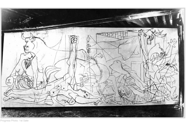 Pablo Picasso- Guernica & √5: Part II - How Art Works