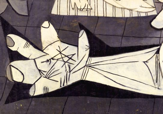 Picasso--Guernica-Hand-Banner
