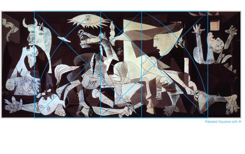 Picasso-Guernica-Squares