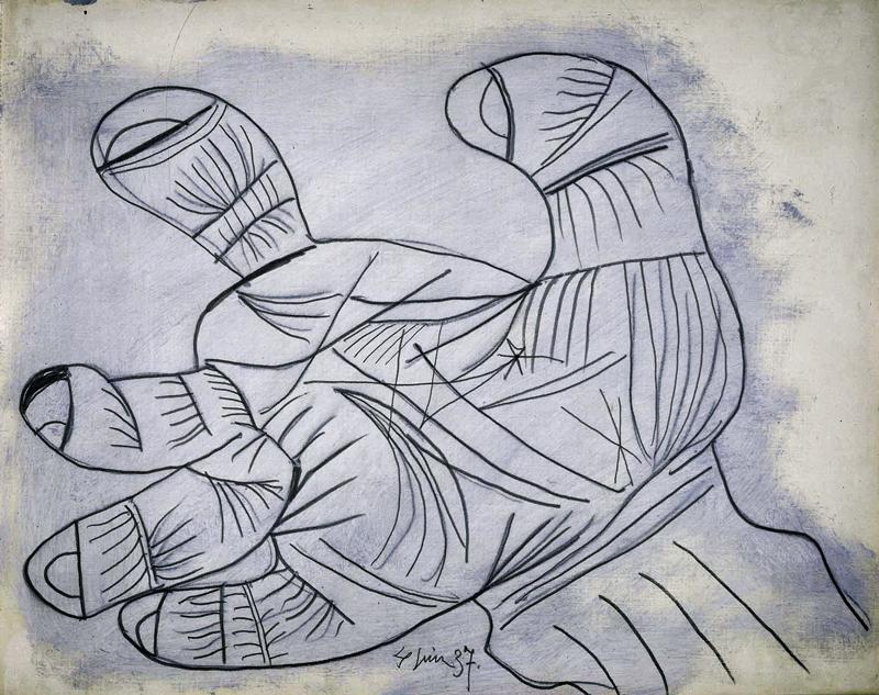 Picasso-Guernica-Hand-Sketch